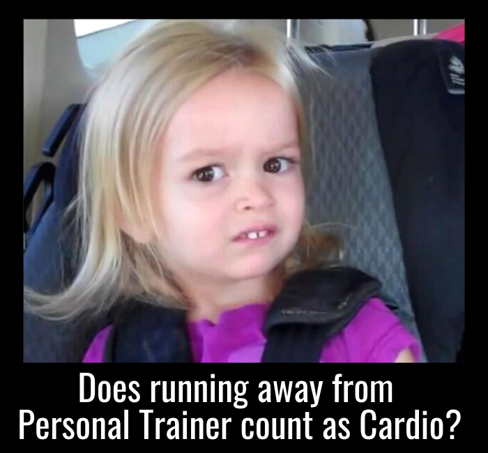 humor fitness personal trainer running sports workout
